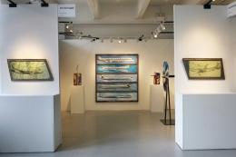 Installation view, Vahakn Arslanian,Outsider Art Fair, New York, 2013