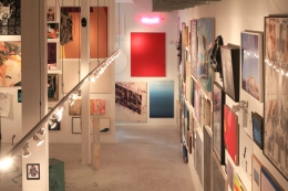 Installation view, The Bruce High Quality Foundation,Brucennial 2012, New York, 2012