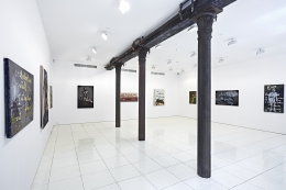 Installation view, Rene Ricard, Rene Ricard: Paintings, Vito Schnabel, New York, 2015