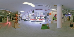 Installation view, The Bruce High Quality Foundation,Brucennial: 2010, New York, 2010