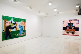 Installation view:Jordan Kerwick: Things we talk about, things we see,Vito Schnabel Gallery, New York; Artworks © Jordan Kerwick;Photo by Argenis Apolinario; Courtesy the artistand Vito Schnabel Gallery