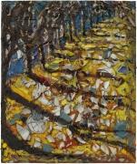 Julian Schnabel, Trees of Home (for Peter Beard) 6, 2020