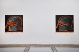 Installation view: Francesco Clemente, Fragments of Now, Vito Schnabel Gallery, New York