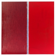 Pat Steir Two Reds, 2013