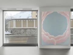 Installation view: Francesco Clemente Clouds