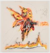 Robert Nava, Fire and Bone Angel, 2019