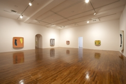 Installation view, Ron Gorchov: Double Trouble, MoMA PS1, Long Island City, New York, 2006
