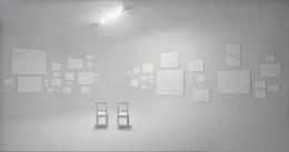 Installation view, Terence Koh,Flowers for Baudelaire, Richard Avedon Studio, New York, 2008