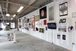 Installation view, The Bruce High Quality Foundation,The Last Brucennial,New York,2014
