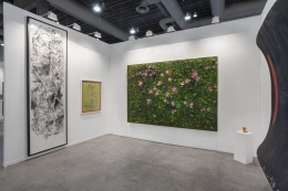 Installation view, Zona Maco, Mexico City, Vito Schnabel Gallery, St. Moritz, 2018
