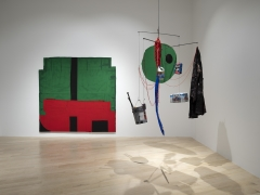Installation view of Sterling Ruby, Institute of Contemporary Art (ICA)