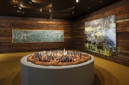 Installation view, These Days,Sotheby's S|2, New York, 2011