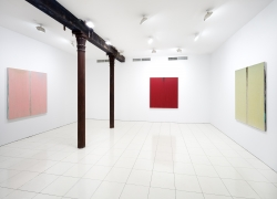 Installation view, Pat Steir, Vito Schnabel Projects, New York, 2019