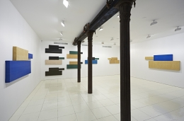 Installation view, Grear Patterson:Panzers and Tigers,Vito Schnabel, New York, 2014.