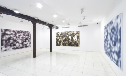 Installation view, Jeff Elrod, Vito Schnabel Projects, New York, 2015