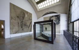 Installation view, Orsay Through the Eyes of Julian Schnabel, Musée d'Orsay, Paris, 2018