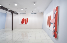 Installation view, James English Leary:Triple Motherfucker,Vito Schnabel Projects, New York, 2015