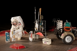 Installation view, ​Tom Sachs, Space Program: MARS​, Park Avenue Armory, New York, NY, 2012