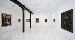 Installation view: Man Ray & Picabia, Vito Schnabel Gallery, New York