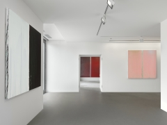 Installation view: Pat Steir,Paintings, Vito Schnabel Gallery, St. Moritz, 2019