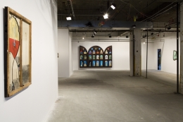Installation view, Vahakn Arslanian, Holy Heavenly, New York, 2012