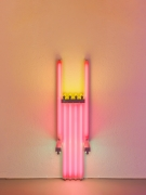 Dan Flavin untitled (to Lucie Rie, master potter) 1w, 1990