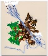 Robert Nava, Air Sign, Forest Wolf, 2020