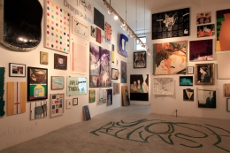 Installation view, The Bruce High Quality Foundation, Brucennial 2012, New York, 2012