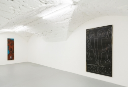 Installation view,A Selection of Works from the 1980s,Vito Schnabel Gallery, St. Moritz, 2016