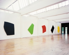 Installation view, Imi Knoebel: 24 Colors—for Blinky (1977), Dia:Beacon, Riggio Galleries, Beacon, New York, 2008–2014
