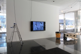 Installation view, The Bruce High Quality Foundation,Art History with Labor,The Lever House Art Collection, New York, 2012
