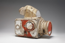 Tom Sachs, Cameras, Aldrich Contemporary Art Museum, Ridgefield, CT, 2009