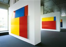 Installation view,Imi Knoebel - Works 1966 bis 2006, Wilhelm-Hack-Museum, Ludwigshafen, 2007