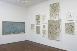 Installation view, Group Show, White Collar Crimes,Acquavella Galleries, New York, 2013
