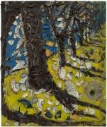 Julian Schnabel, Trees of Home (for Peter Beard) 3, 2020