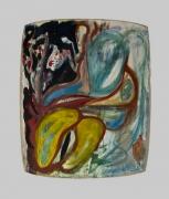 Joseph Brandt, 1993, Oil on pale linen