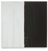 Pat Steir  Black and White, 2018