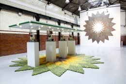 Installation view, The Bruce High Quality Foundation, Beyond Pastoral, The Tramshed, London, 2010