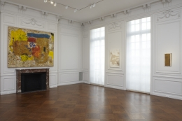Installation view, Group Show,White Collar Crimes,Acquavella Galleries, New York, 2013
