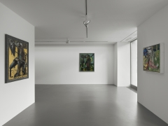 Installation view: Markus Lüpertz, Vito Schnabel Gallery, St. Moritz, 2020