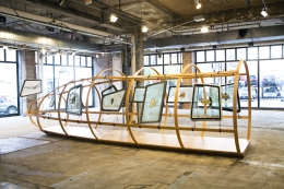 Installation view, Vahakn Arslanian,Holy Heavenly,New York, 2012