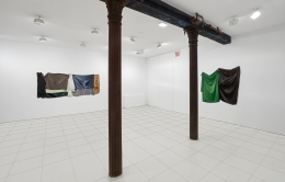 Installation view, Stephen Posen:Threads:Paintings from the 1960s and '70s,Vito Schnabel Projects, New York