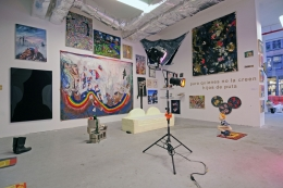 Installation view, The Bruce High Quality Foundation, Brucennial: 2010​, New York, 2010