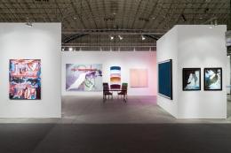 Installation view, EXPO Chicago, Vito Schnabel Gallery, St. Moritz,2018