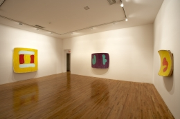 Installation view,Ron Gorchov,Double Trouble,MoMA PS1, Long Island City,New York, 2006