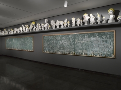 Installation view,The Bruce High Quality Foundation:Ode to Joy: 2001-2013,Brooklyn Museum, Brooklyn, 2013