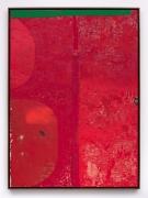 HALF TETRAD (6391), 2017, Acrylic, oil, and cardboard on canvas