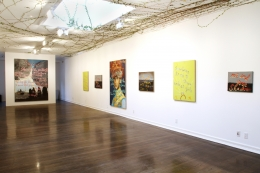 Installation view, Rene Ricard,Go Mae West, Young Man, Los Angeles, 2012,