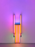Dan Flavin untitled (to Lucie Rie, master potter) 1fff, 1990