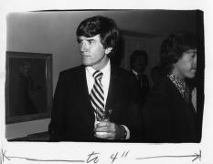 Gary Hart, President Carter's Inauguration, 1977